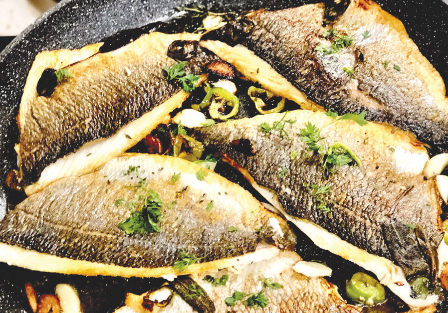 PAN-FRIED SPICY FISH (Credit: PASCALE PEREZ-RUBIN)