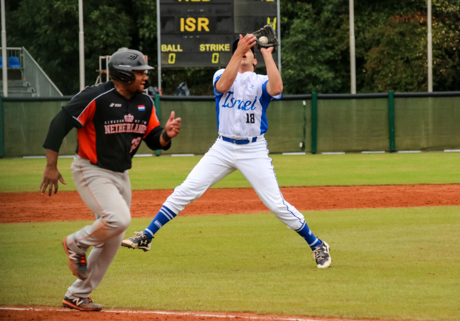 DESPITE A 13-4 loss to the Netherlands yesterday at the European Baseball Championship in Germany, I