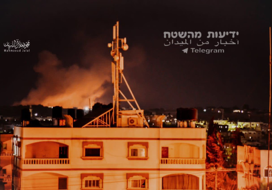 Les attaques des FDI dans le nord de la bande de Gaza 11 septembre 2019