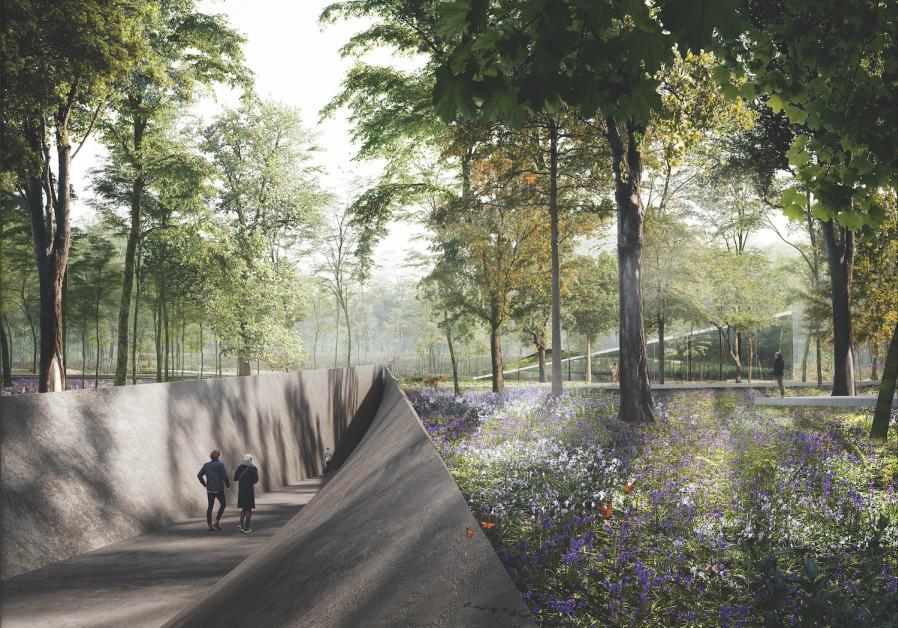 Austrian architect wins prize for Babi Yar Holocaust Center Memorial