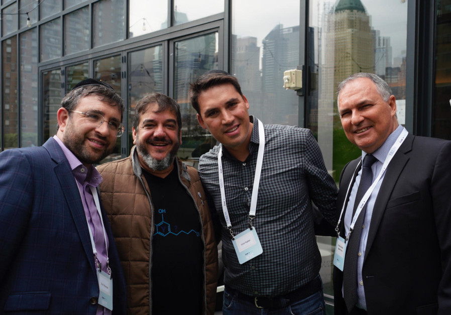 Israeli cannabis start-ups push their wares in New York