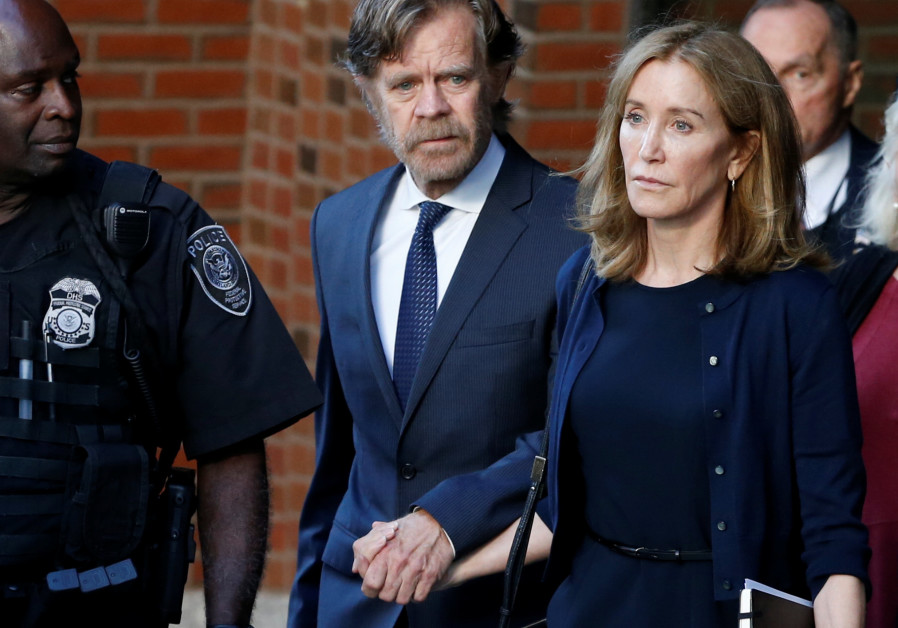 Felicity Huffman sentenced to 14 days in prison for bribery