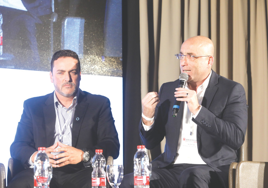 THE HEALTH PANEL at the 2019 Elections Conference of 'The Jerusalem Post' and 'Maariv.'
