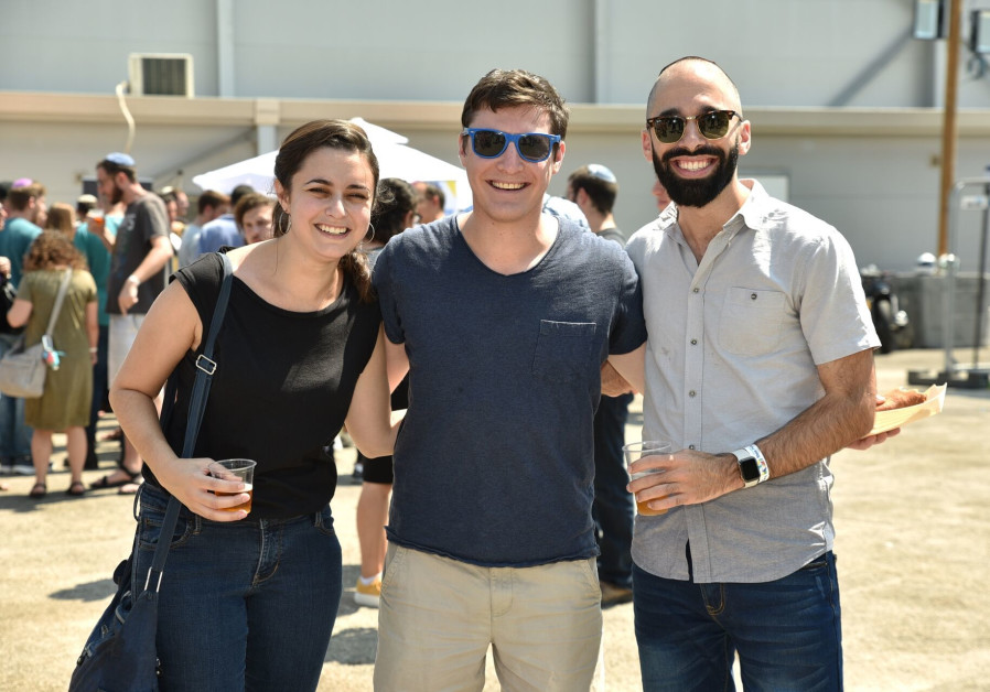 "Nefesh B'Nefesh Hosts ""Block Party"" for over 1,000 Young Professional Olim"