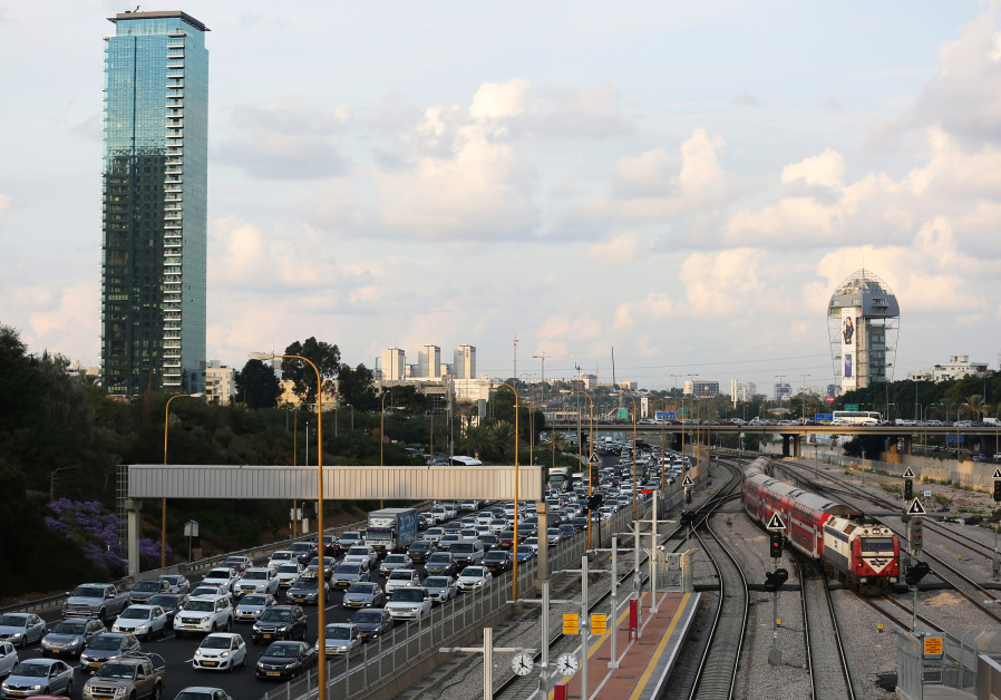 Study: Congestion continuing to increase on Israel's crowded roads