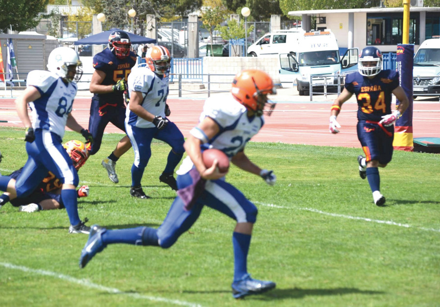 TACKLE FOOTBALL has grown in Israel over the past decade, and the national team is ready for Europe.