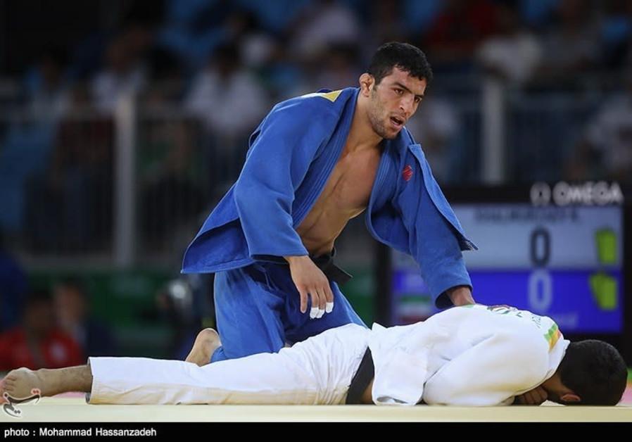 Iranian judoka Saeid Mollaei