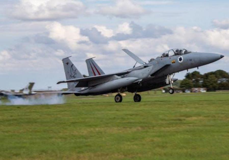 Israeli jets return from Cobra Warrior exercise in the UK