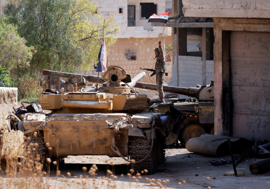 Syrian army sends reinforcements to Israeli border - report