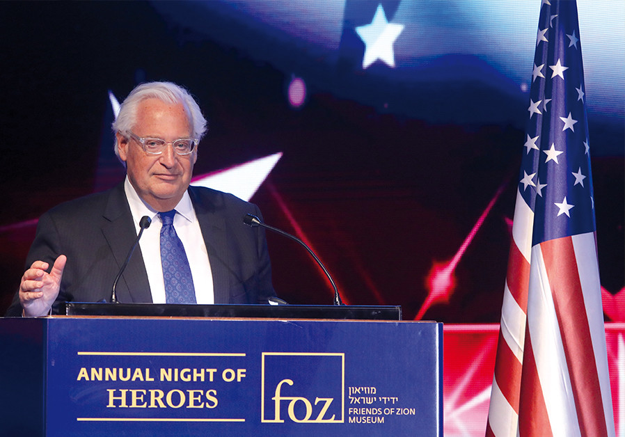 David Friedman talks Iran, annexation, diplomacy in 'Post' interview