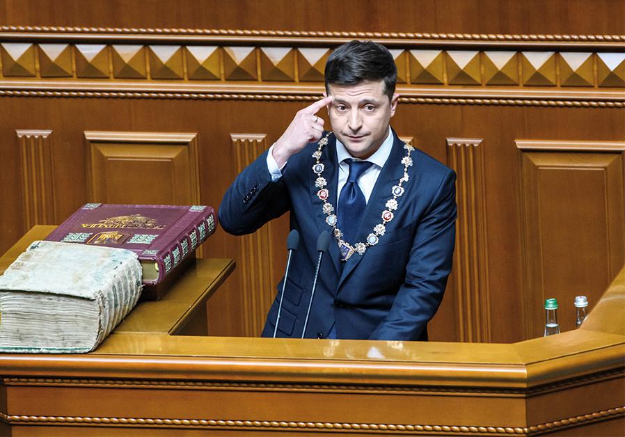 Volodymyr Zelensky: Ukrainian Jew entangled in Trump's impeachment scandal