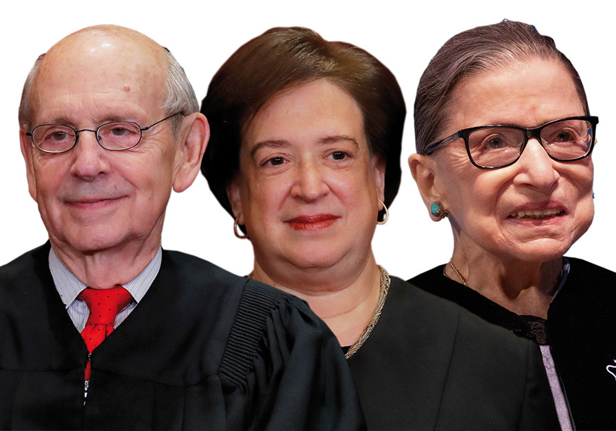Three Jewish Supreme Court justices putting a powerful stamp on US Jewry