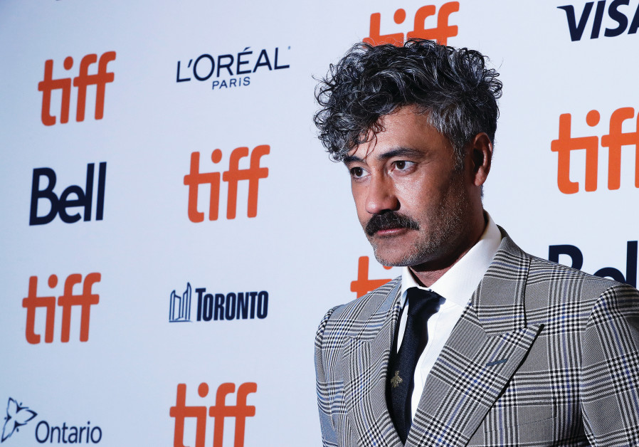 DIRECTOR TAIKA Waititi arrives at the world premiere of 'Jojo Rabbit' at the Toronto International F