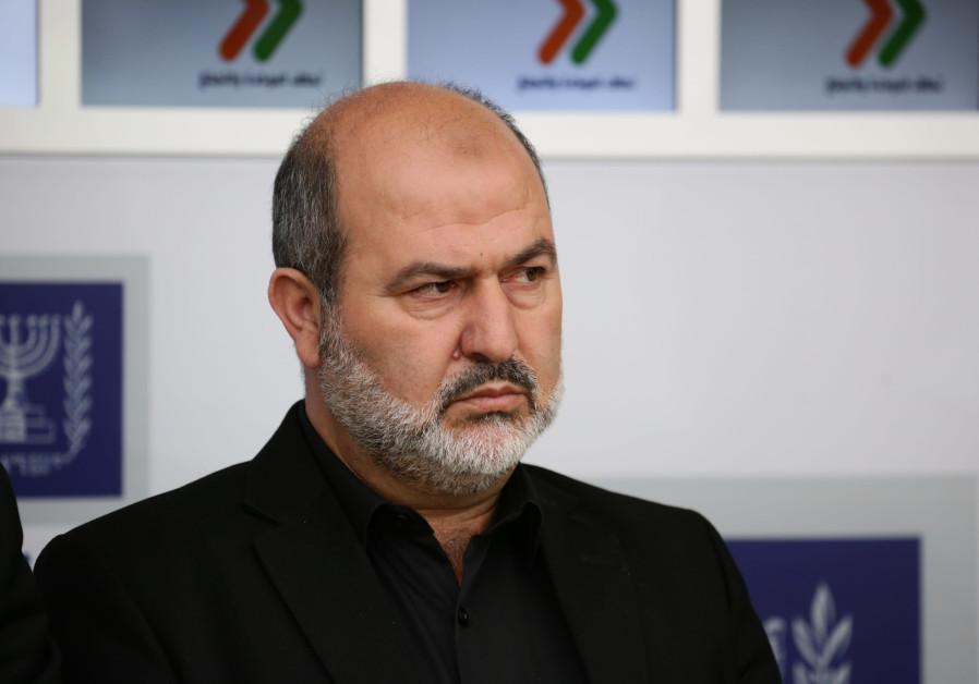 Abd al Hakim Hajj Yahya of Raam Balad party, April, 2019