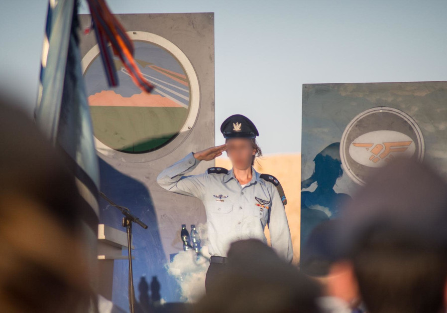 History as first female Air Force pilot takes command of flight squadron