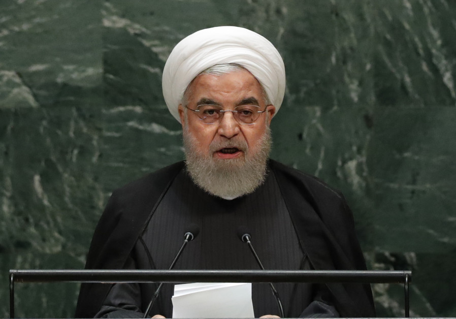 Iran's Rouhani says French plan for talks broadly is acceptable