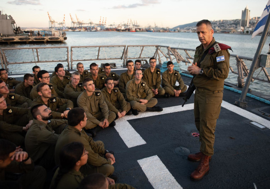 IDF Chief of Staff Kochavi inspects Naval readiness on northern border