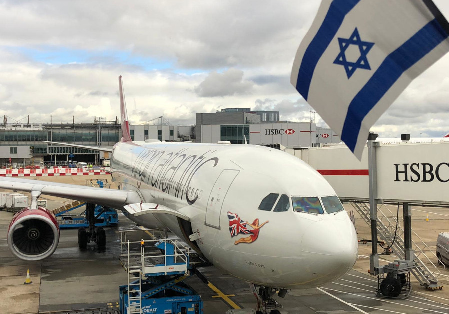 First Virgin Atlantic flight lands at Ben-Gurion