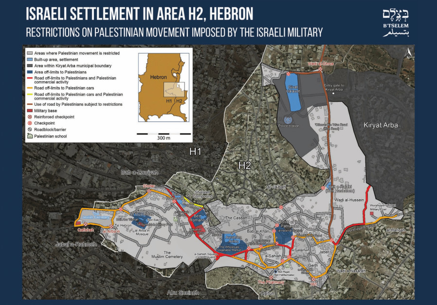 """""""Playing the Security Card"""" - B'tselem's report on IDF movement restrictions in Hebron"""
