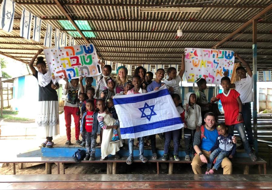 "Ethiopian Jews say, ""Next Year in Jerusalem"""
