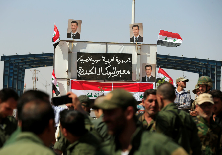 Sensitive and strategic border crossing between Iraq-Syria opens