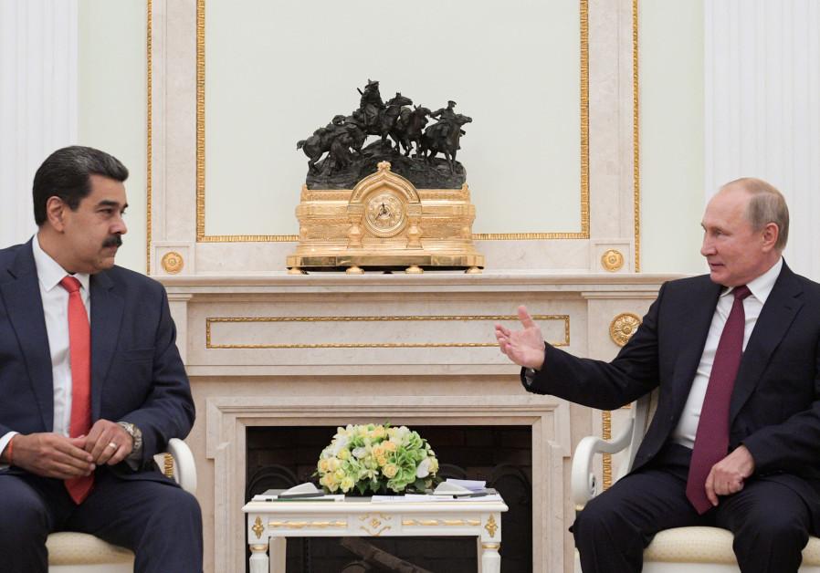 Putin, Maduro discussed Venezuela's debt to Russia last week