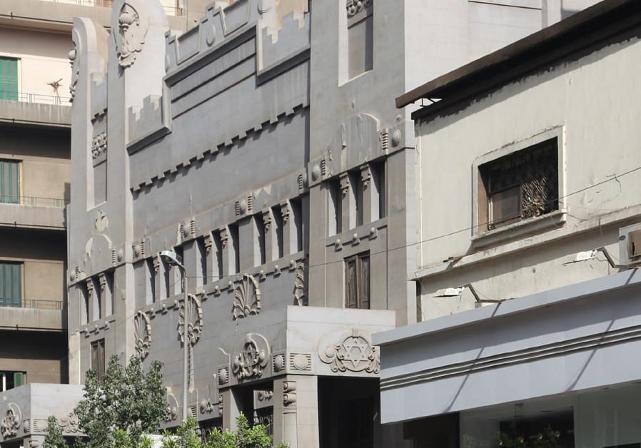 Shaar Hashamaim synagogue in Cairo, Egypt.