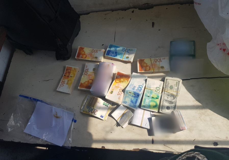 Two suspects arrested for allegedly transporting terror cash