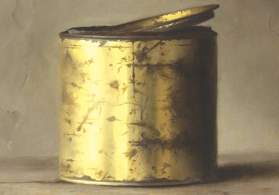 Painting a metal can like it's a third-world-country