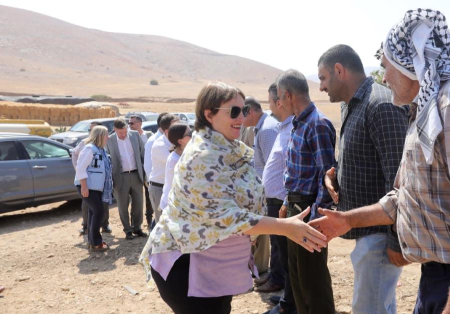 EU Middle East envoy protests Israeli annexation with Jordan Valley visit