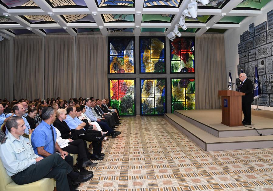 President Rivlin hosts seminar on pardons