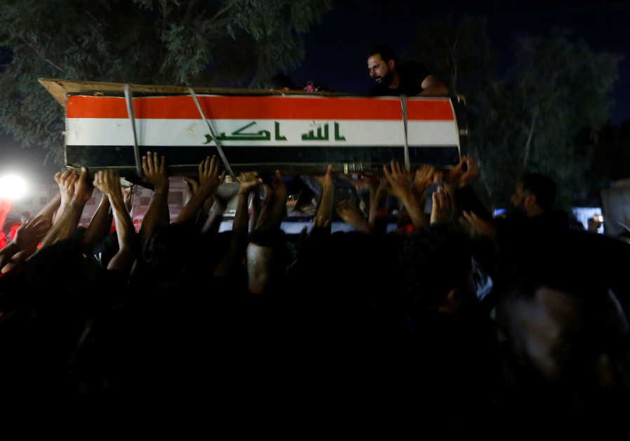 Eight people killed and 15 wounded in fresh clashes in Baghdad