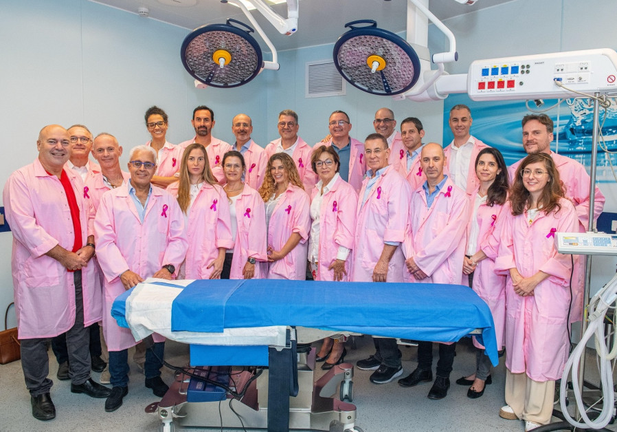 Israeli Society of Plastic & Aesthetic Surgery wear pink for Breast Cancer Awareness Month