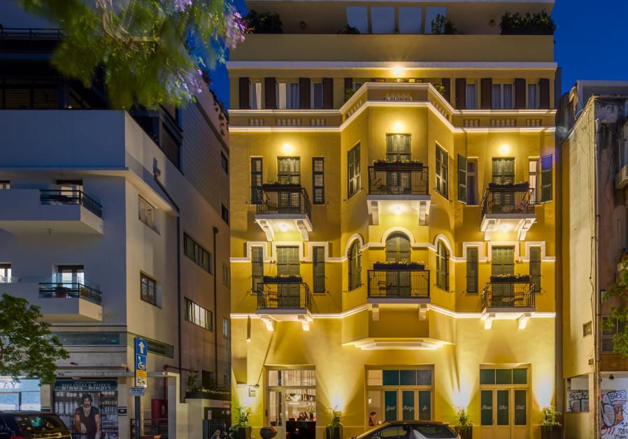 Sam&Blondi Hotel on Tel Aviv's Shenkin Street