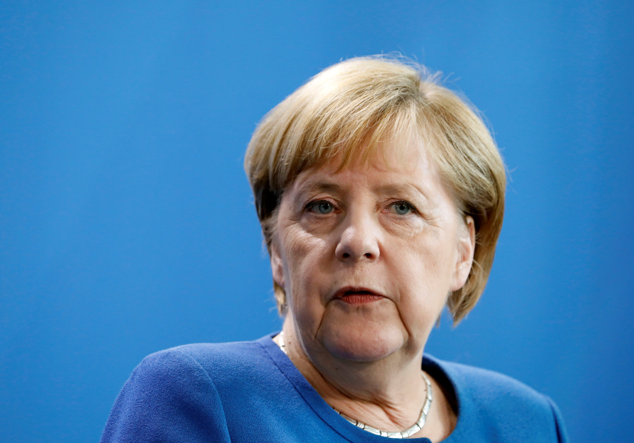 German Chancellor Angela Merkel holds a joint news conference with Dutch Prime Minister Mark Rutte (