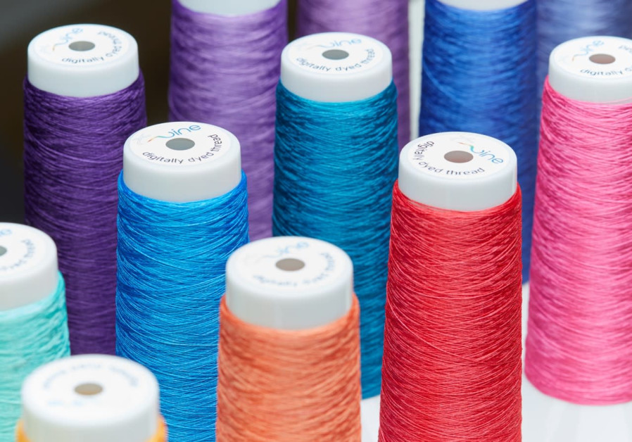 Digitally dyed threads produced by Twine Solutions