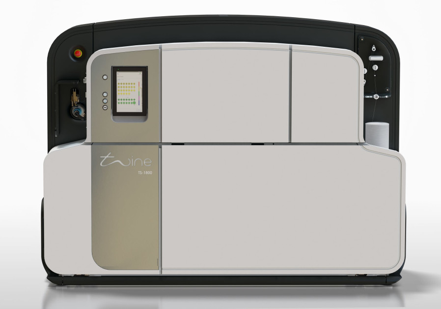 Twine Solution's TS1800 digital dyeing machine (Photo Credit: Twine Solutions)