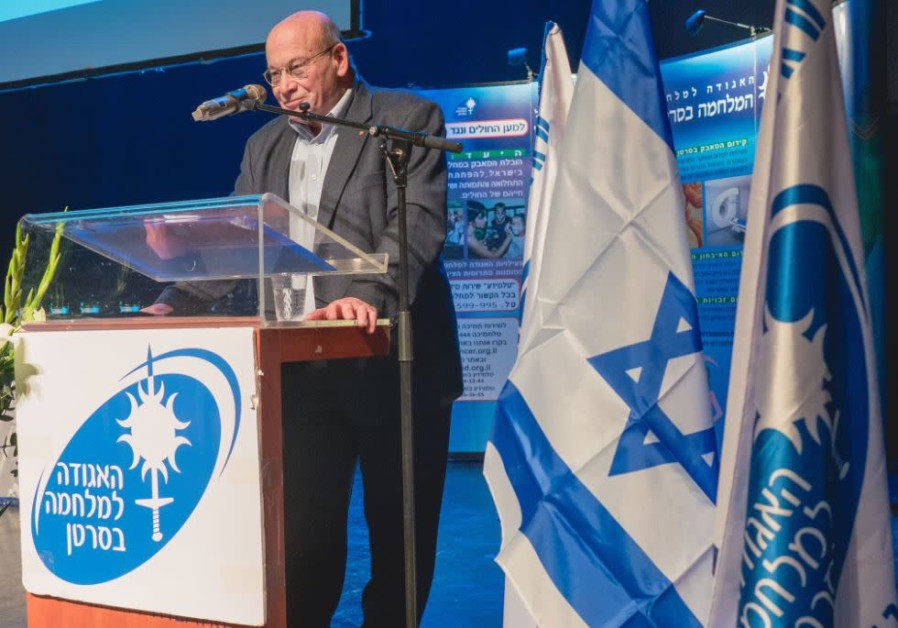 Professor Abraham Kooten, chair of the Israel Cancer Association