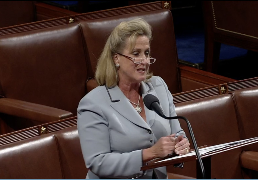 Congresswoman Ann Wagner speaks to the House of Representatives, October 2019