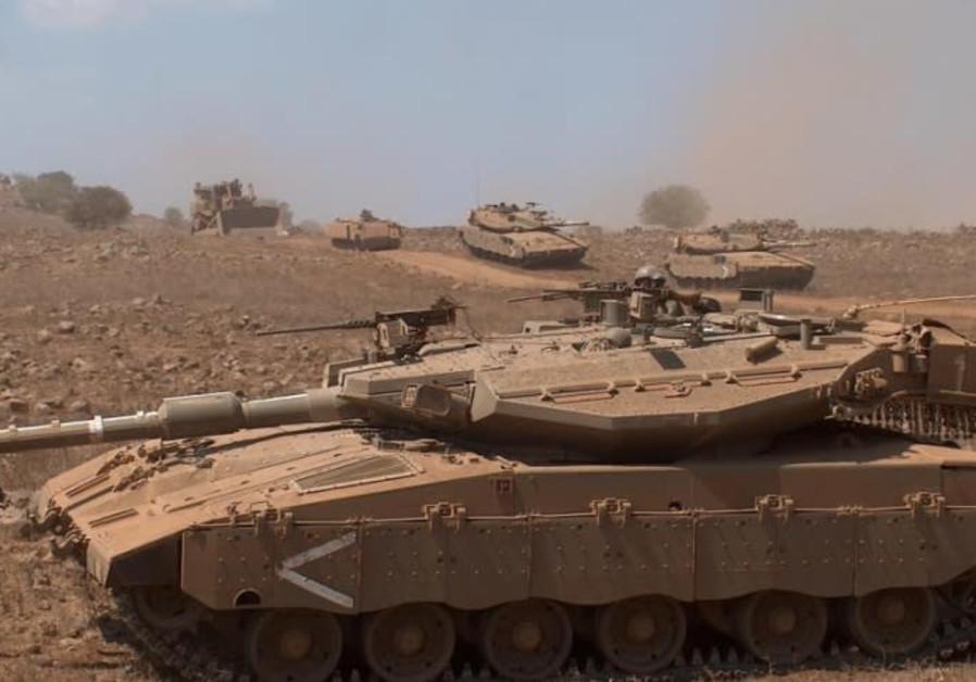 1,200 IDF soldiers race ahead of Yom Kippur, brigade's 50th anniversary