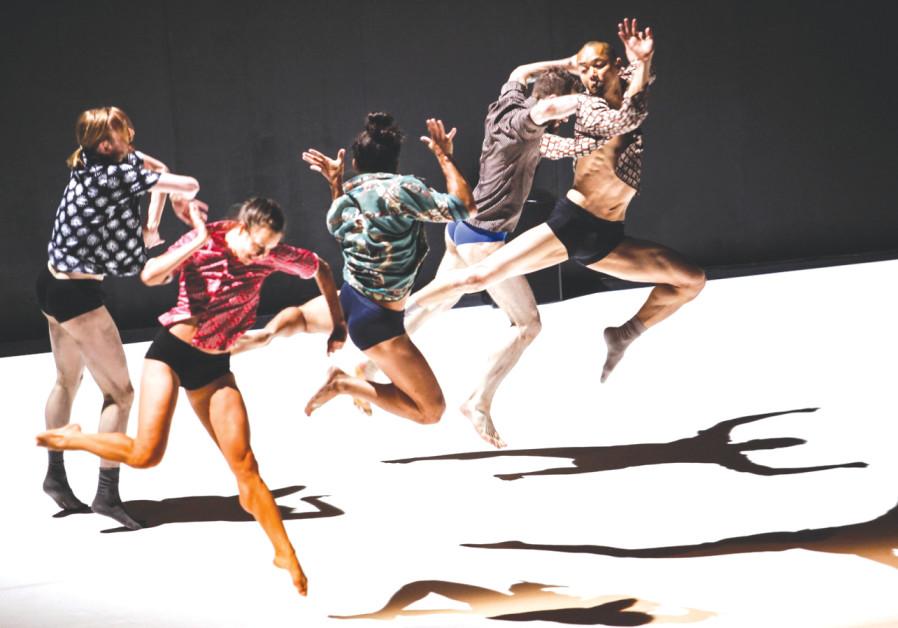 THE EMANUEL GAT Dance troupe.