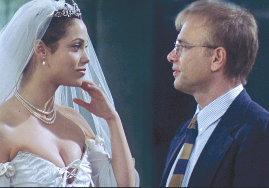 JOE PANTOLIANO and Elizabeth Berkley in Avi Nesher's 'Taxman.'