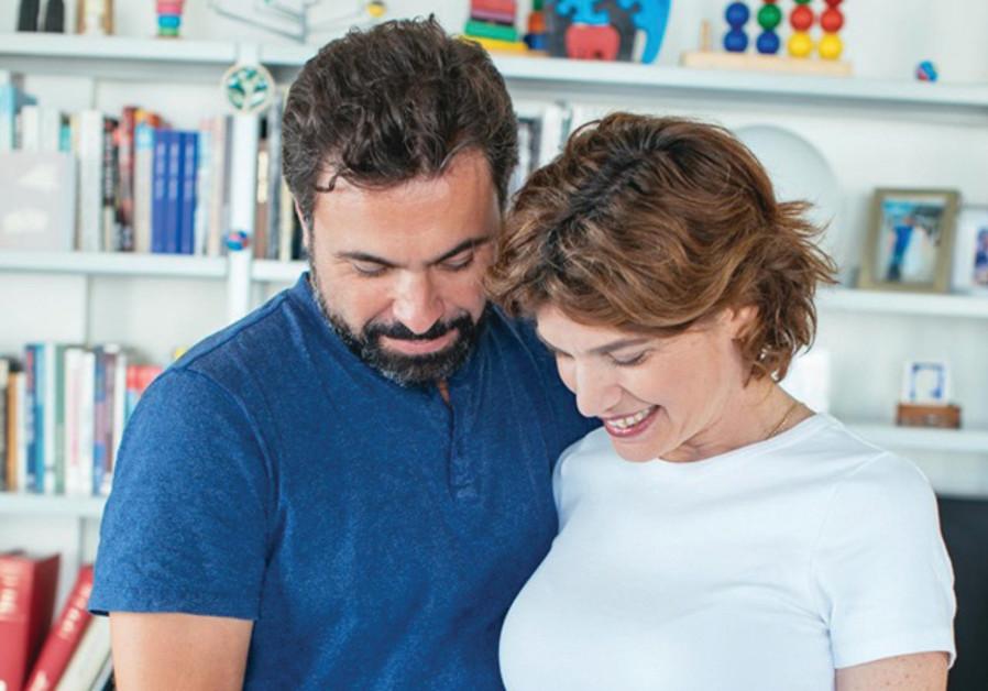 TAMAR ZANDBERG and Uri Zaki are expectant parents.