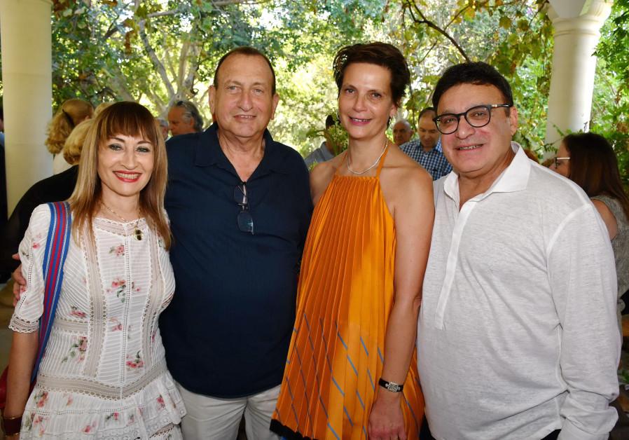 Tzipi Pines, Ron Huldai, Hila Rahav and Ofer Nimrodi.