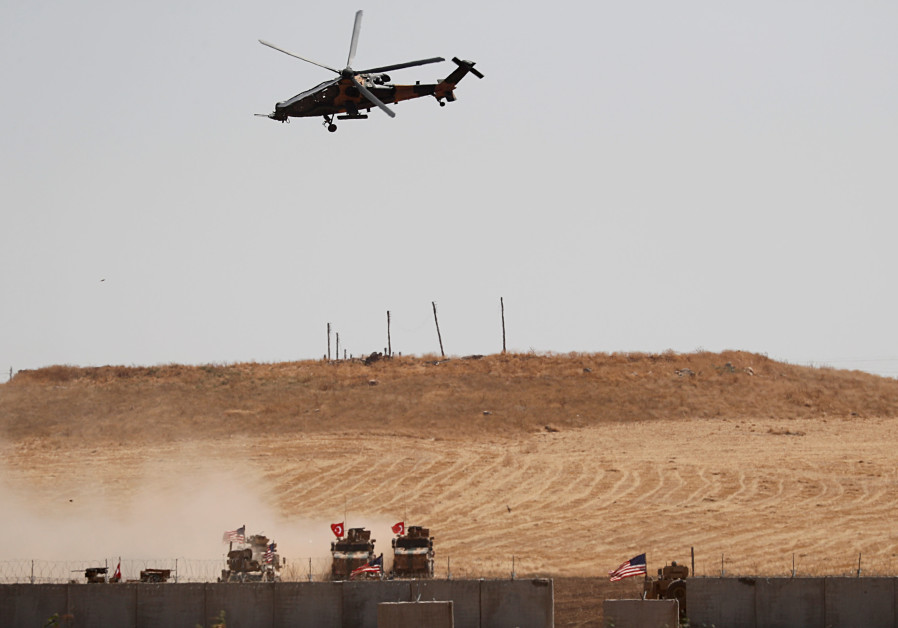 Turkey shells U.S. Special Forces in Syria, U.S. forces fall back