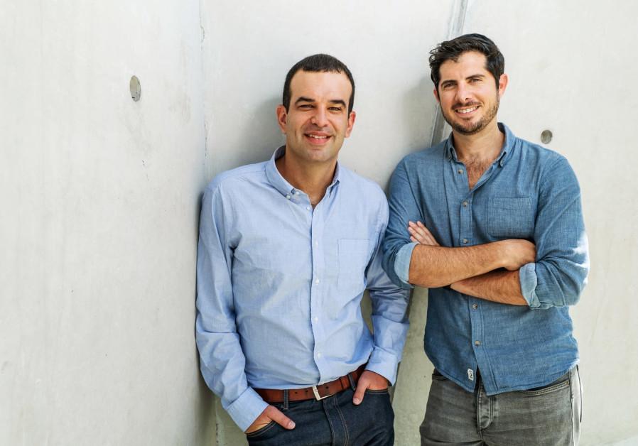 Jones co-founders Michael Rodman (L) and Omri Stern (R)