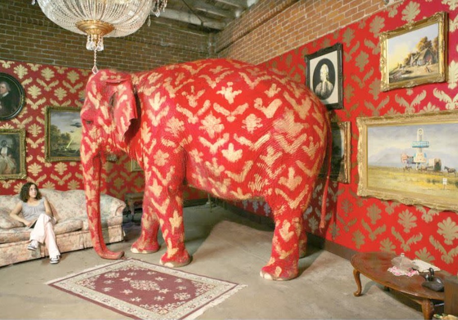 'THE ELEPHANT in the Room,' by #Banksy