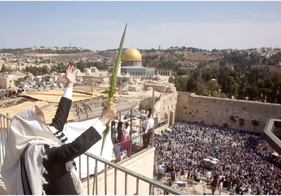 EXALTING IN Sukkot at the Western Wall