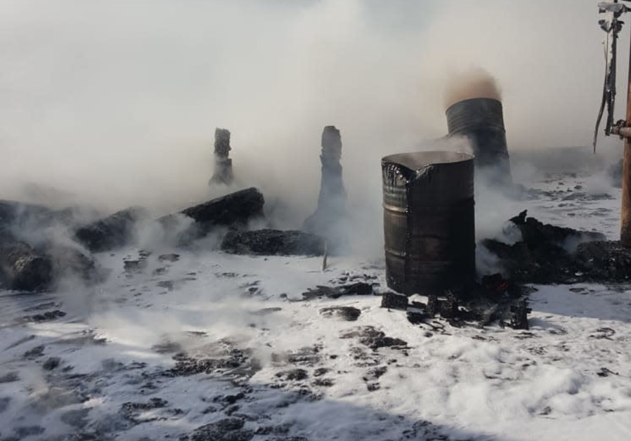 Fire at Weizmann Institute, Oct. 15, 2019 (