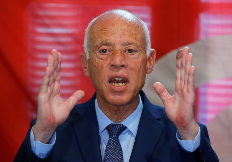 Tunisia's president elect: Normalization with 'Zionist entity' is treachery